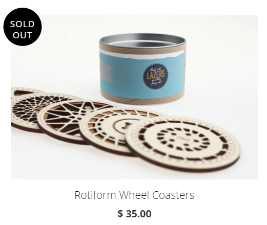 rotifrom coasters