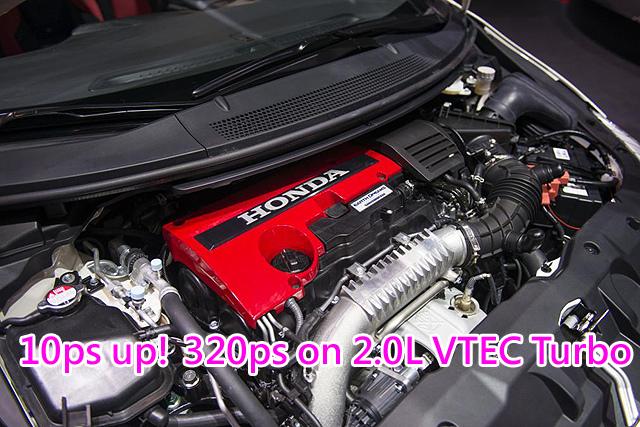 2017-Honda-Civic-Type-R-Turbocharged-Engine-Specs