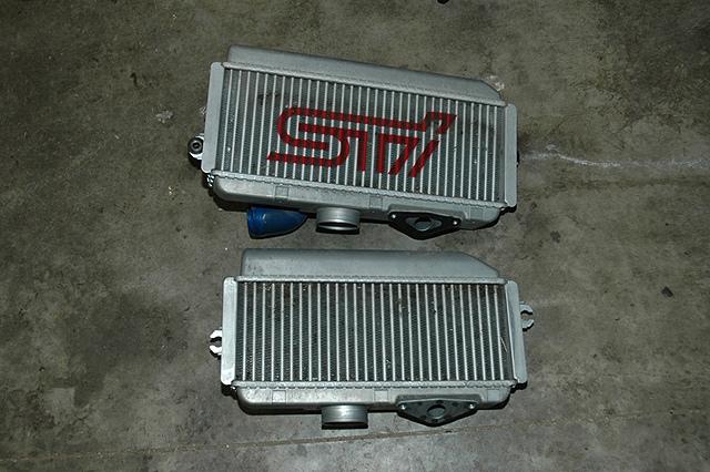 WRX STI intercooler