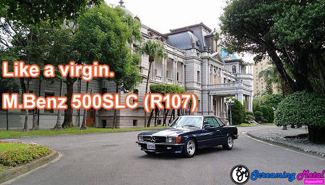 Benz R107 500 SLC C107