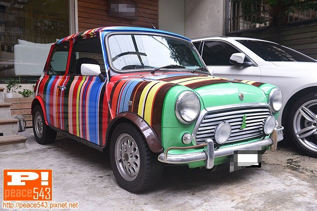 Austin Mini Paul Smith 1