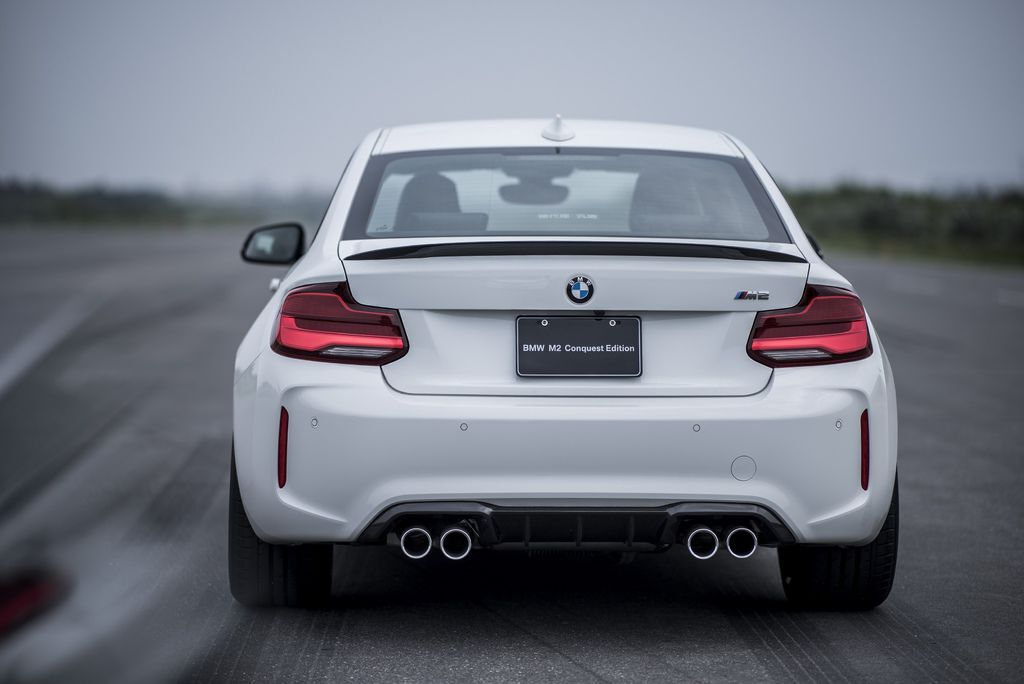 [新聞照片二] BMW M2 Conquest Edition全面升級搭載M Performance高性能加裝套件