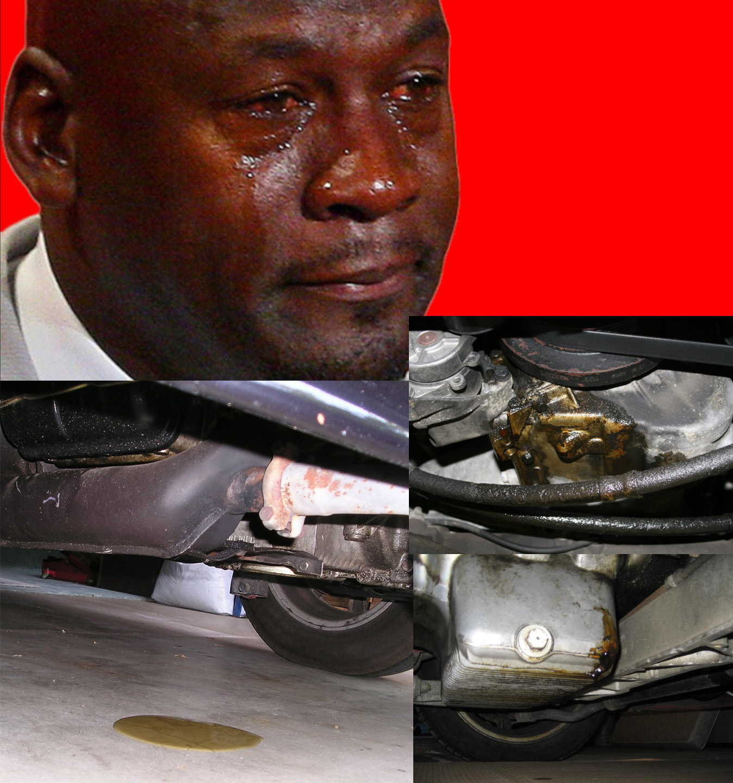 Engine leak