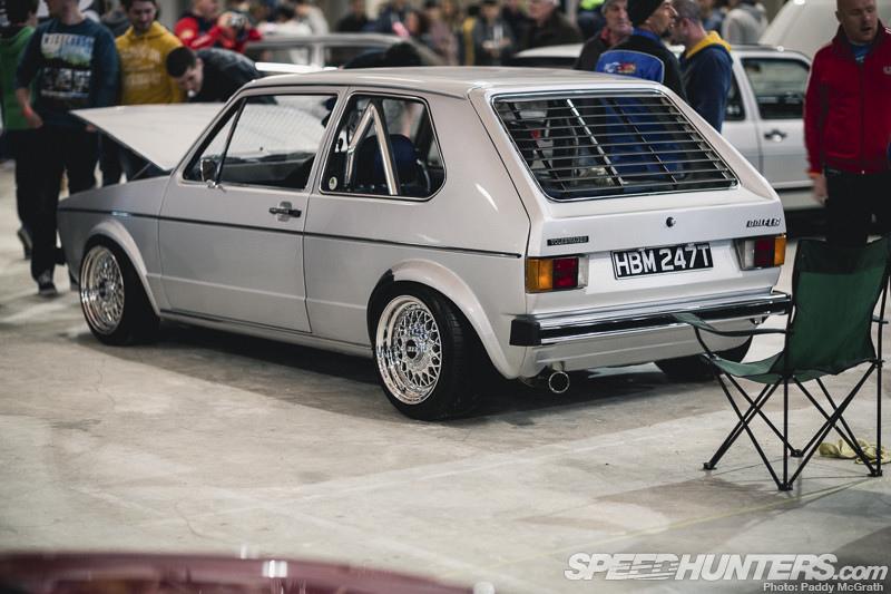 rear louver Golf mk2