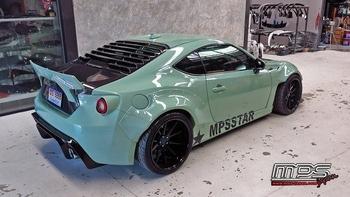 rear louver GT86