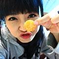 我有個薯餅鼻子!