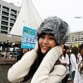 請看可愛的蒙古帽