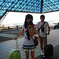 我們到了!桃園機場!