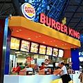 依照慣例,漢堡王一下。