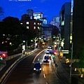 東京的夜景很迷幻。