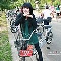 畢業典禮結束後我們去姐姐推薦的鐵馬道騎單車。