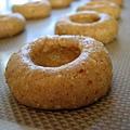 手工藍莓醬餅乾。