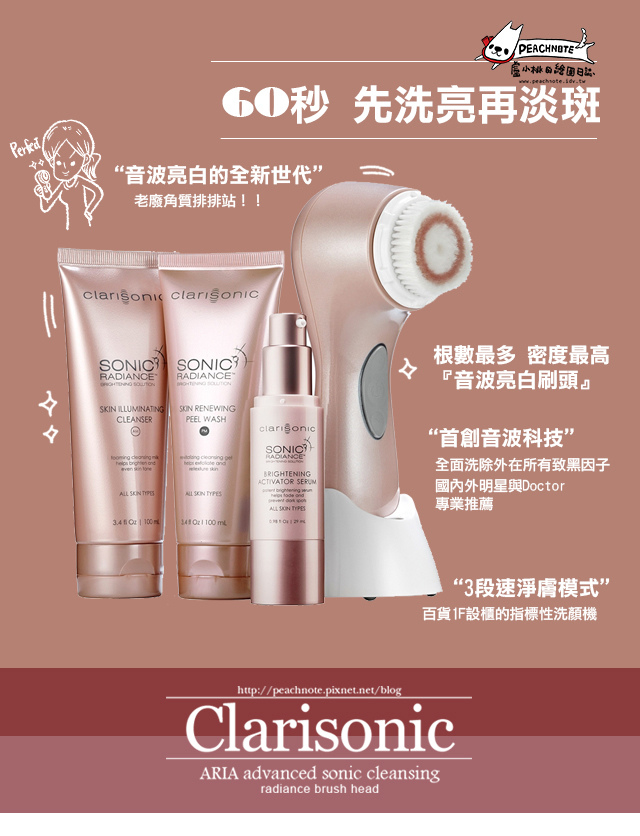 CLARISONIC PEACHNOTE1