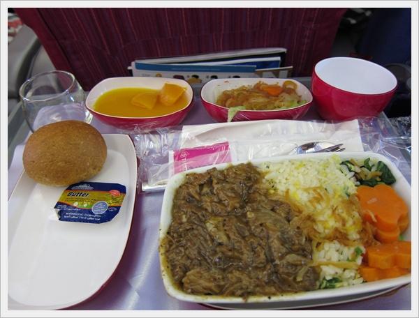 飛機上的午餐
