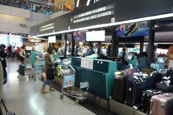 機場很多人