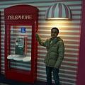電話亭也粉紅風