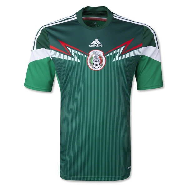 2014_World_Cup_Mexico_Jersey_Home
