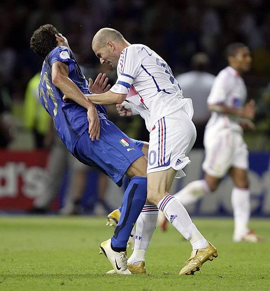 Zinedine Zidane_Marco Materazzi