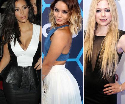Kim Kardashian_Vanessa Hudgens_Avril Lavigne