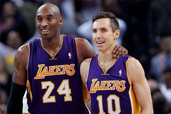 Steve Nash_Kobe Bryan_Lakers