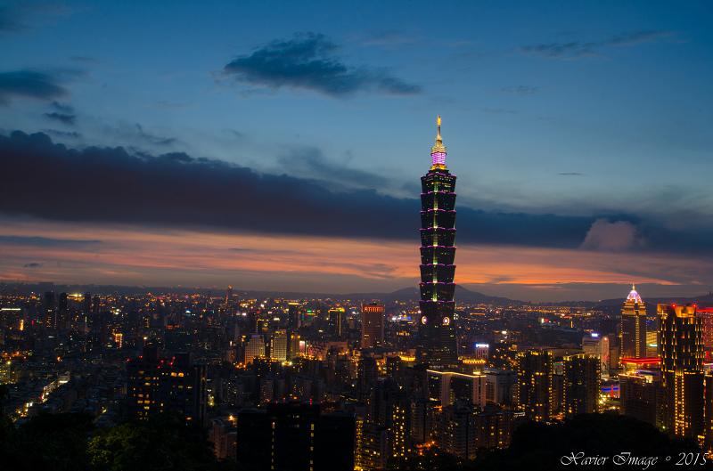 象山夜景_台北101