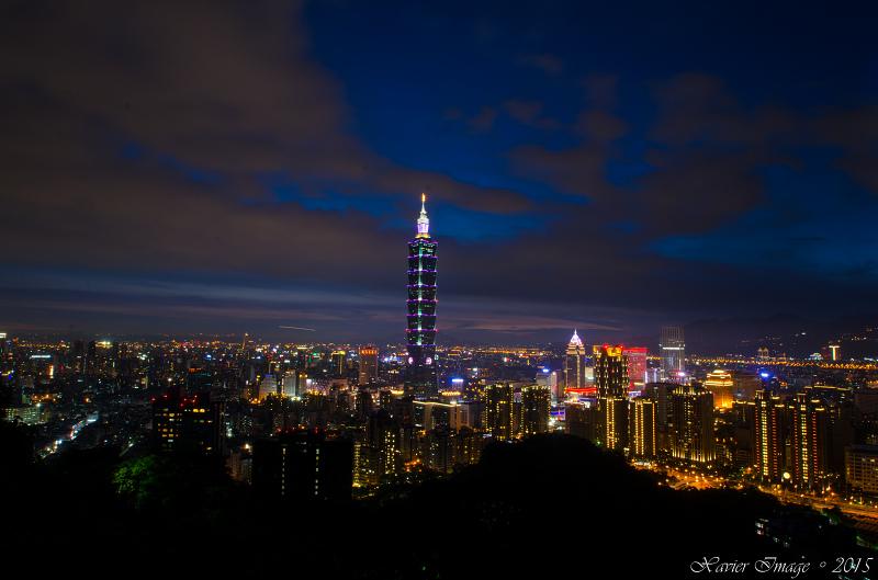 象山夜景_台北101-2