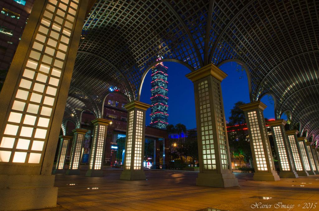 信義區_國泰金融中心_台北101夜景