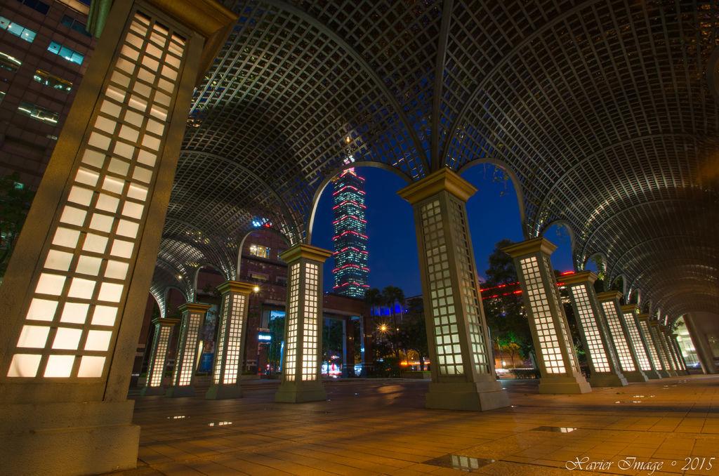 信義區_國泰金融中心_絕妙的台北101夜景 2