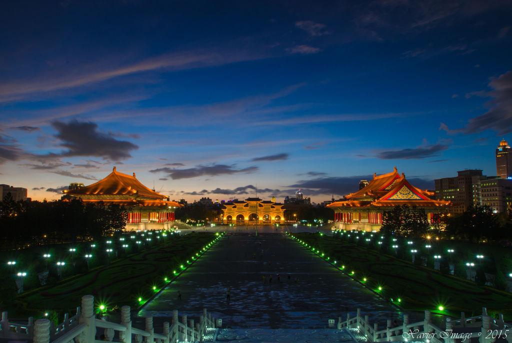 中正紀念堂夜景