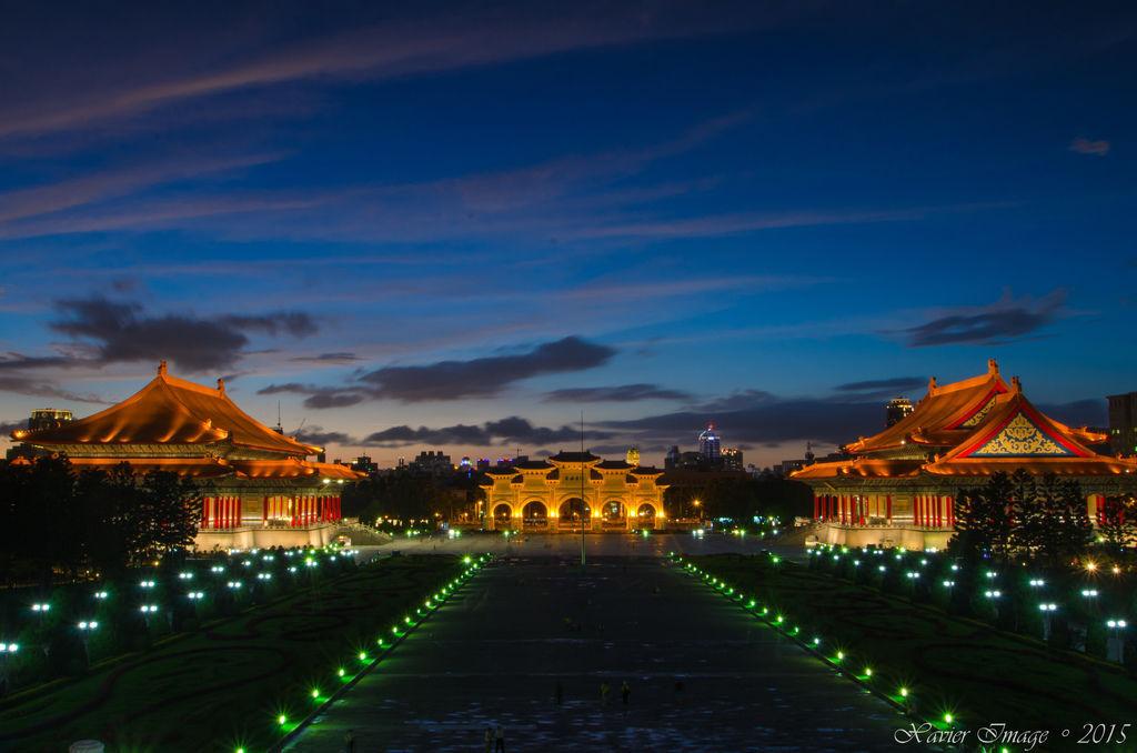 中正紀念堂夜景 2