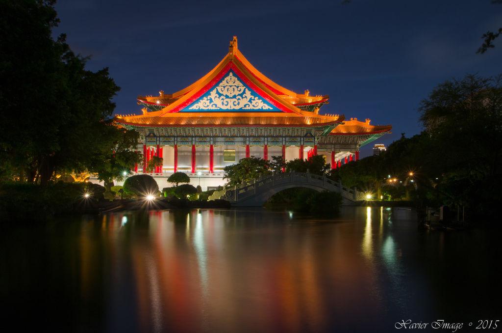 中正紀念堂國家音樂廳夜景