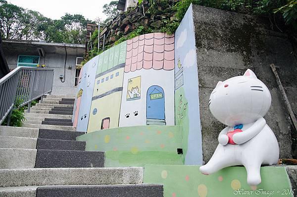 猴硐貓村_鋼琴樓梯