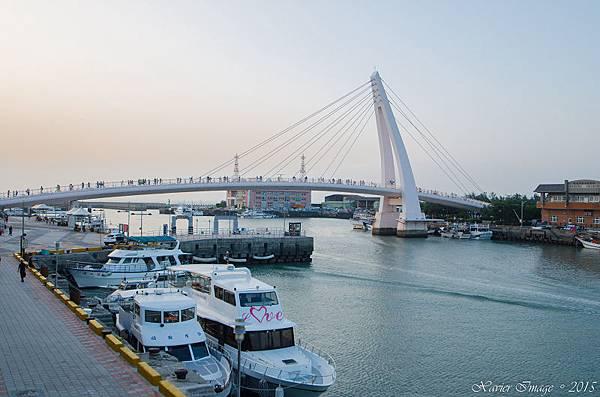淡水漁人碼頭情人橋 4