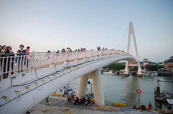 淡水漁人碼頭情人橋 6