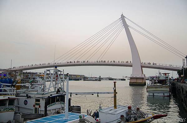 淡水漁人碼頭情人橋 7