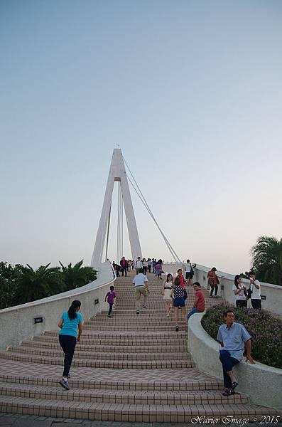 淡水漁人碼頭情人橋 3