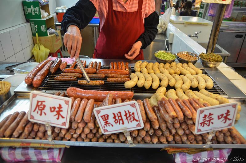 士林夜市士林市場大香腸