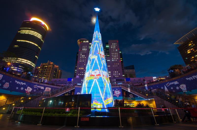 新北市歡樂耶誕城 耶誕樹 2