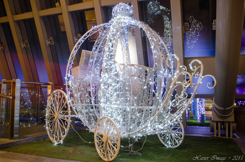板橋大遠百耶誕熊玩自拍 2