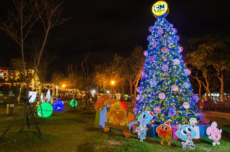 阿甘妙世界耶誕樹