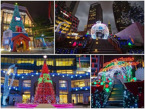 台北信義區夜景聖誕燈封面