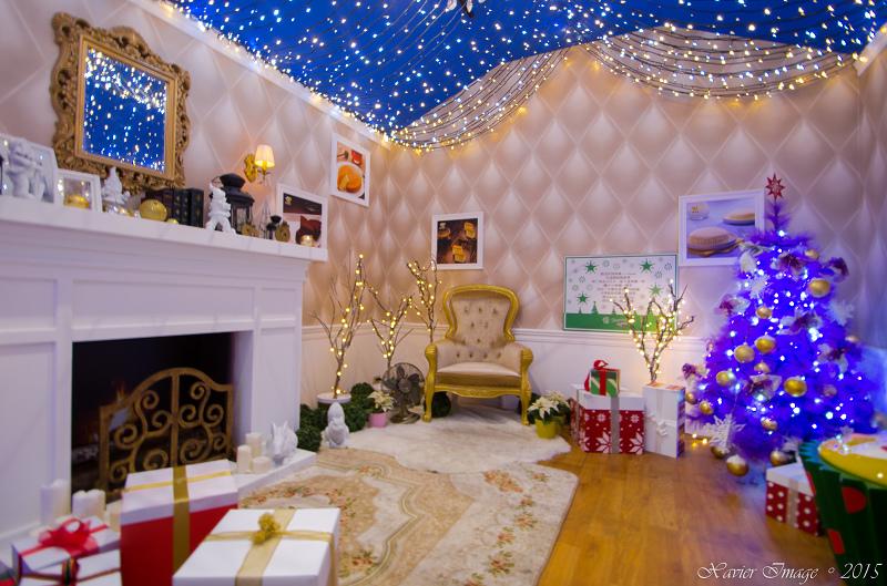 台北信義區夜景聖誕燈飾_統一阪急 6