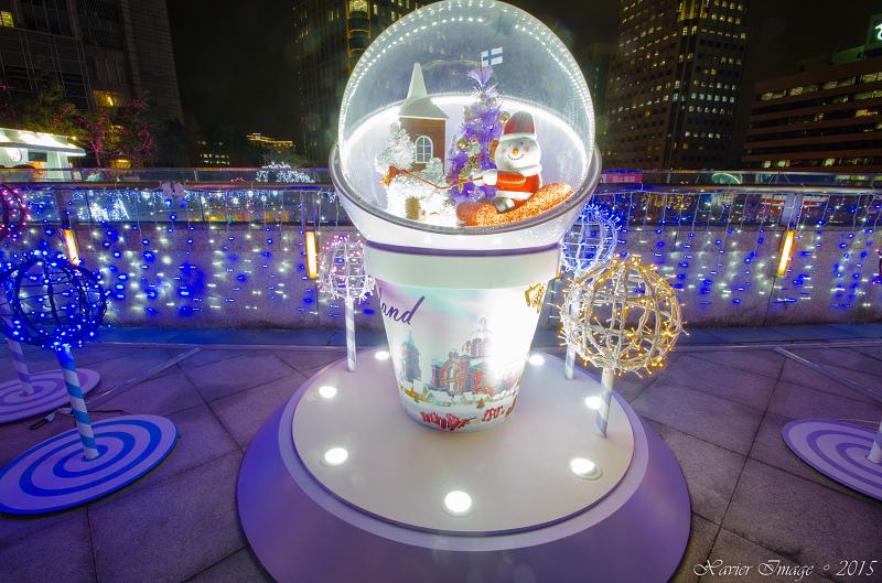 台北信義區夜景聖誕燈飾_統一阪急 10