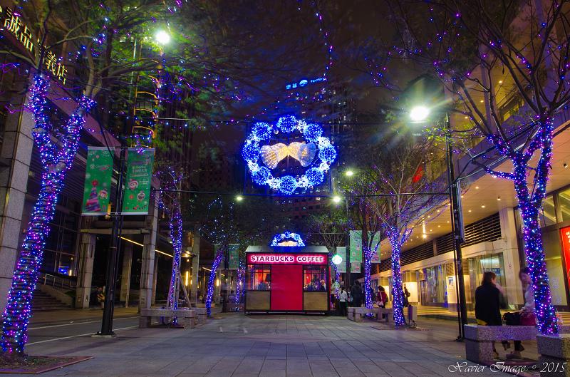 台北信義區夜景聖誕燈飾_統一阪急_信義誠品 3
