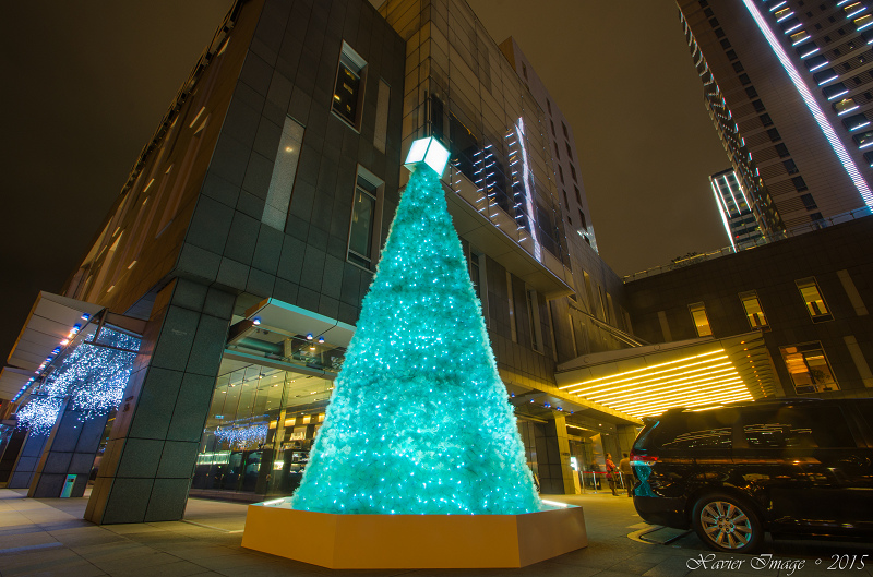 台北信義區夜景聖誕燈飾_寒舍艾麗