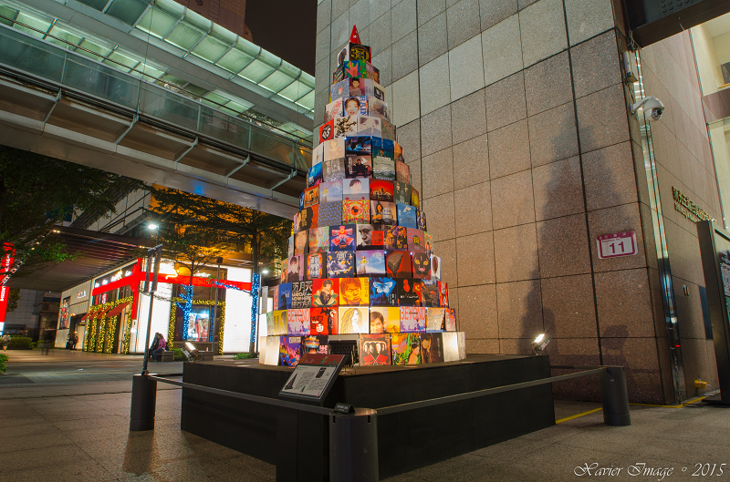 台北信義區夜景聖誕燈飾_新光三越 3