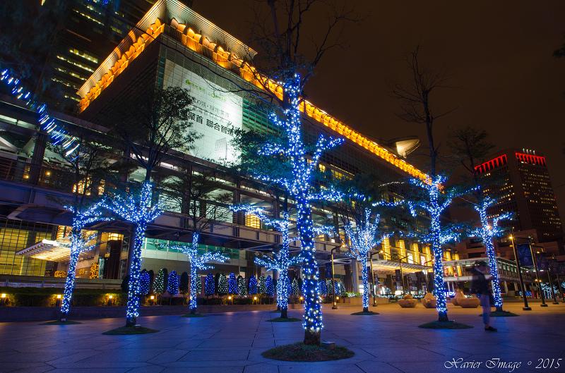 台北信義區夜景聖誕燈飾_台北101 4