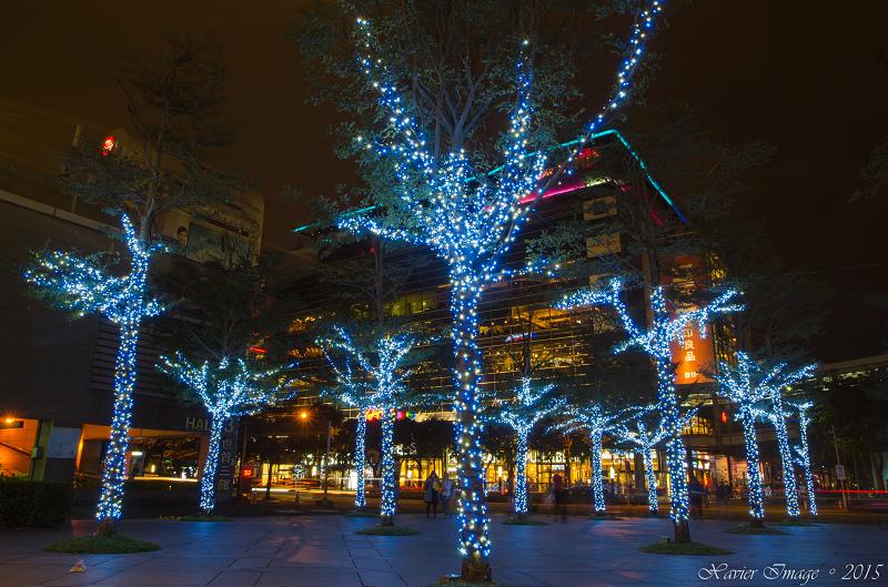 台北信義區夜景聖誕燈飾_台北101 5