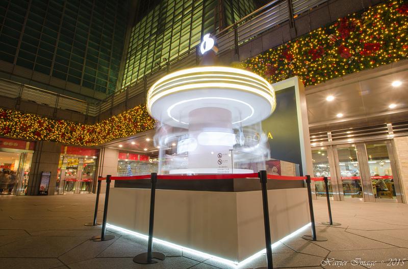 台北信義區夜景聖誕燈飾_台北101 3