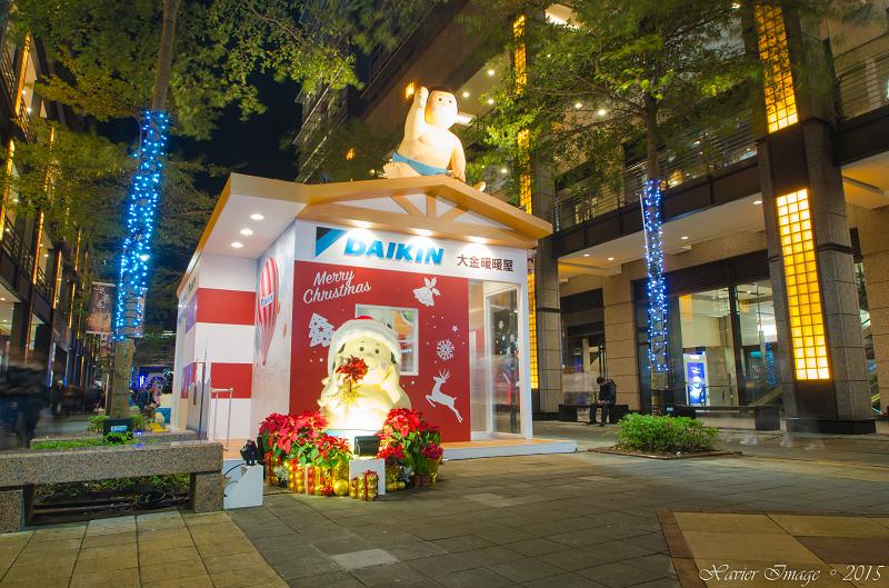台北信義區夜景聖誕燈飾_新光三越 4